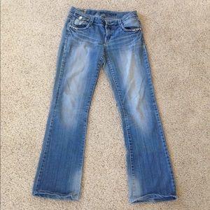 LA Idol Jeans Size 7 Bootcut